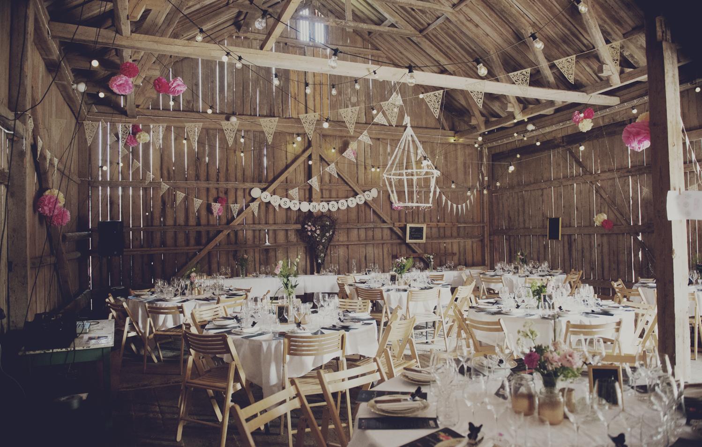 Bröllop i lada