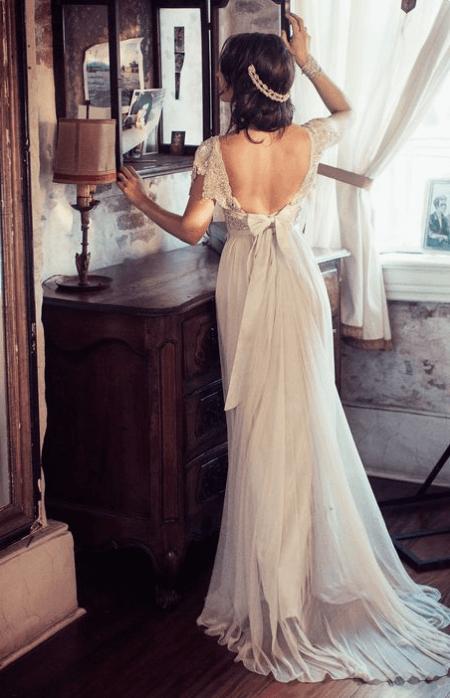 e836de79c27 Guide till vintage brudklänningar - här hittar du klänningar runt om ...