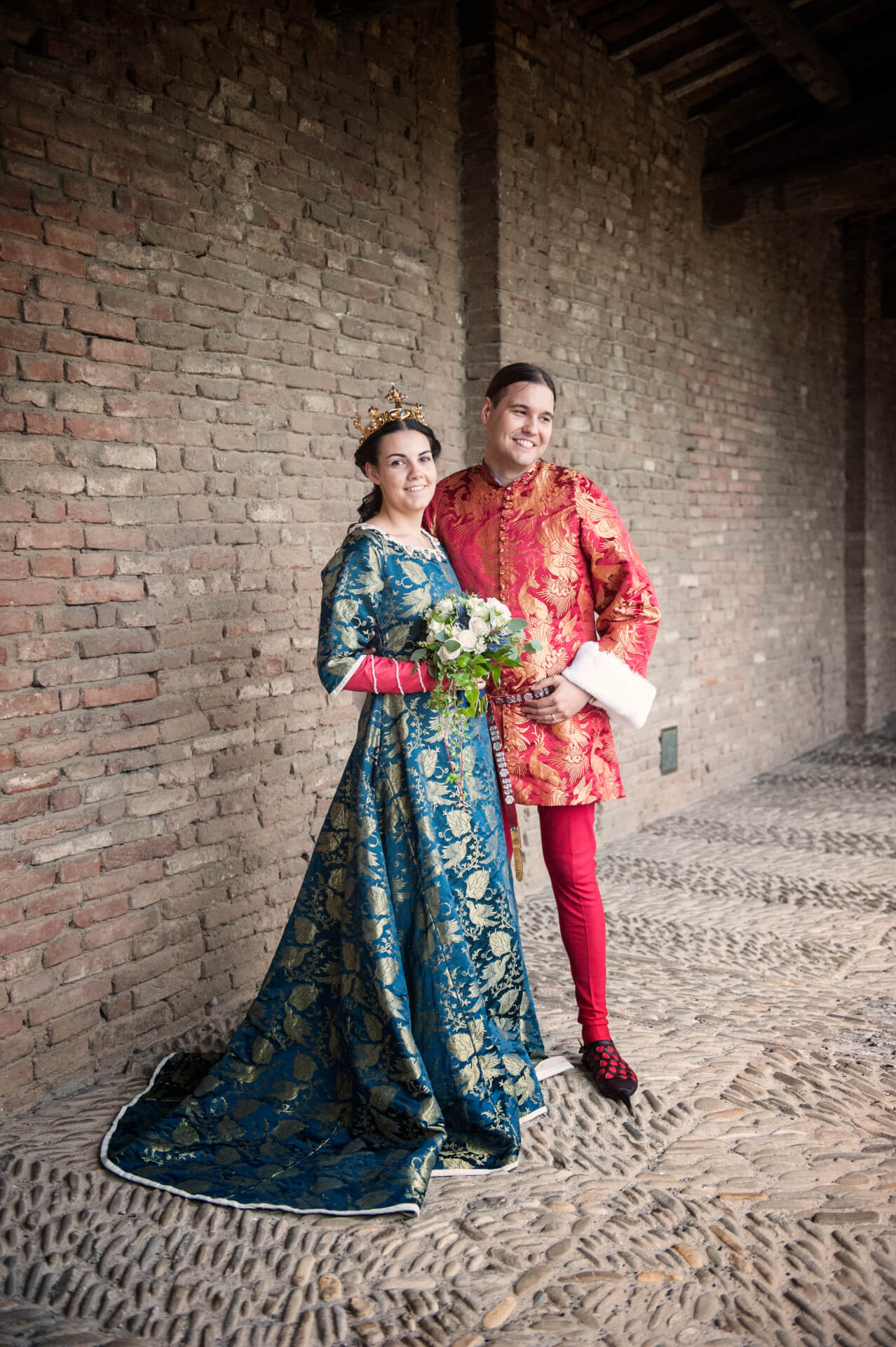 b925715452c6 Vår bröllopshistoria - Anna och Francescos medeltidsbröllop - Wedding  Stories : Wedding Stories